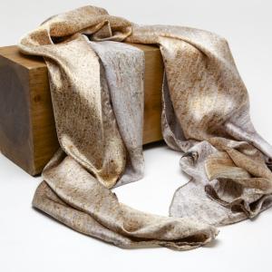 Eucalyptus 100% silk scarf