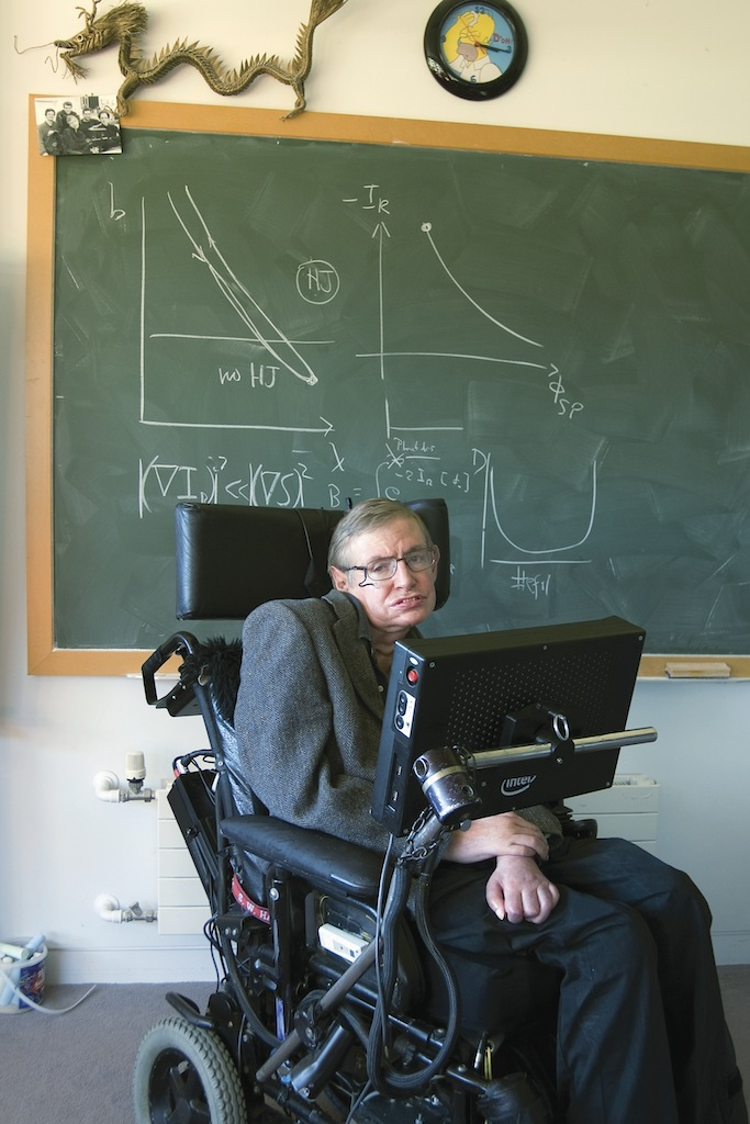 Stephen Hawking, Lucasian Professor of Mathematics