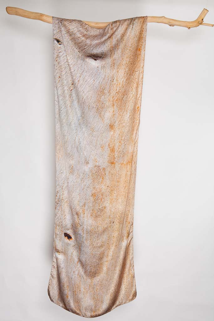 Cider Gum Eucalyptus Scarf by Howard Guest 100% silk, Made in Britain