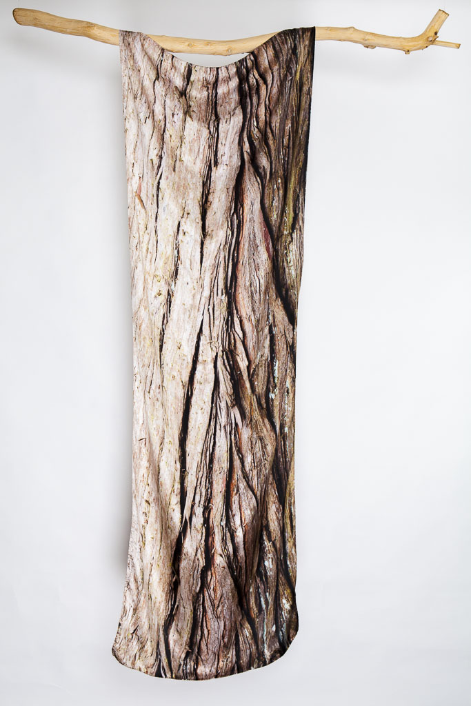 The Swamp Cypress Silk Scarf by Howard Guest