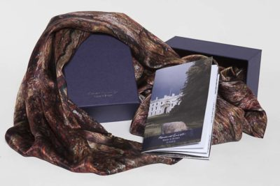 The Xu Zhimo Willow Tree Scarf by Howard Guest