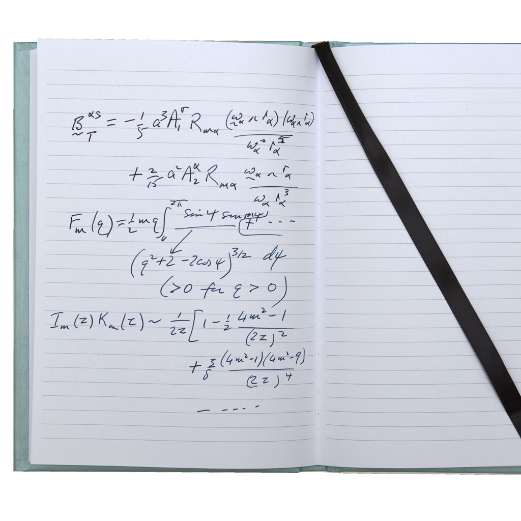 The Cambridge Notebook - lined notebook perfect for taking mathematical notes
