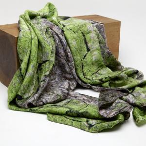 Horse Chestnut 100% Silk Scarf
